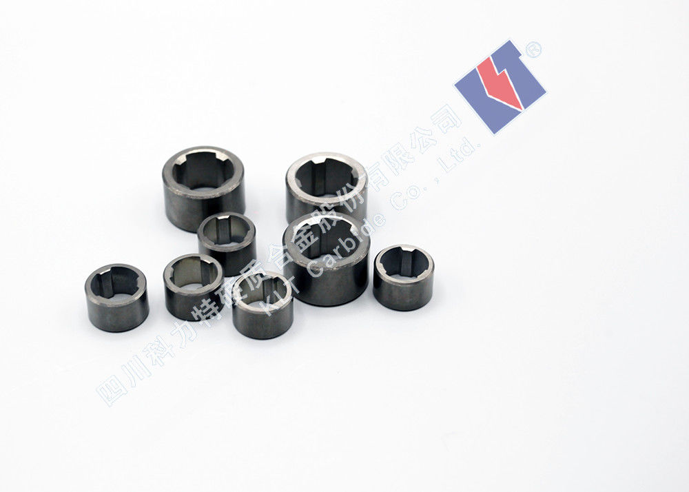 Pump Wear-resistant Accessories Tungsten Carbide Water Shaft  Bushing Sleeve With Inner Petal-3 Flaps