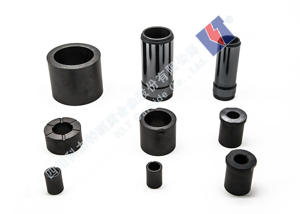 Durable Silicon Carbide Products Themal Shock Bushing Sleeve Iso9001 Certification